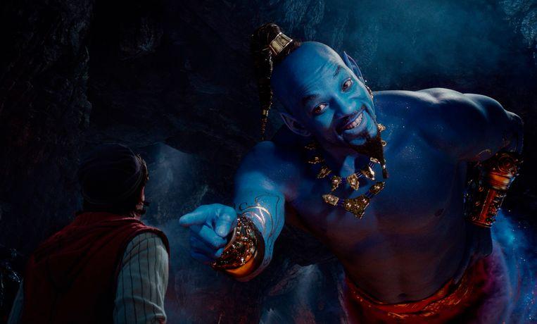 Will Smith als Geest in 'Aladdin'