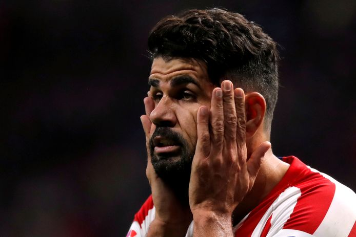 Diego Costa: niet meer dezelfde voetballer dan voor de controversiële behandeling.
