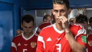 Russische spelers snoven ammoniak voor de wedstrijd