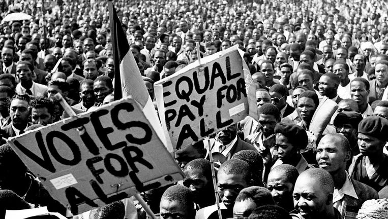 Beeld uit de documentaire The State Against Mandela and the Others Beeld
