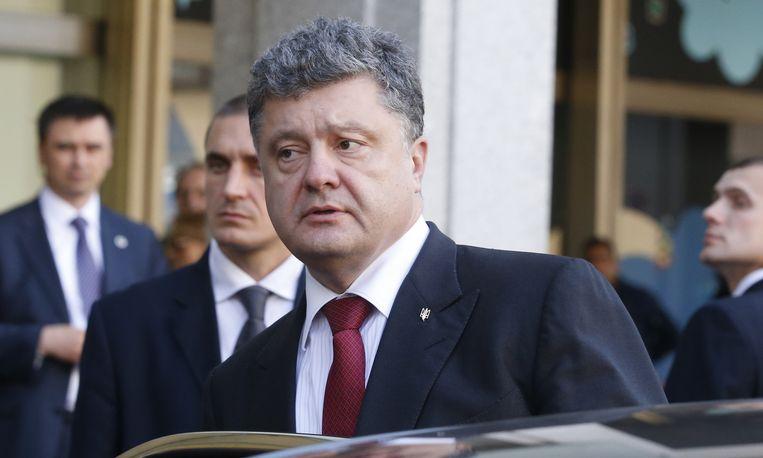 Petro Porosjenko. Beeld ap