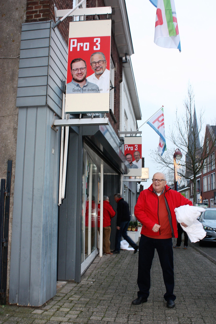 De winkel is vrijdagmiddag geopend.