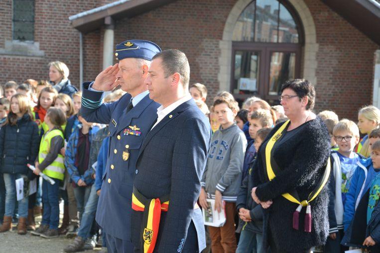 GLABBEEK-Glabbeek Herdenkt voor scholen