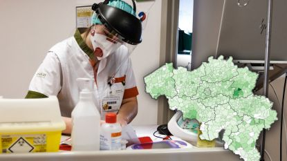 OVERZICHT. 64 nieuwe overlijdens door coronavirus, nu al meer dan 3.700 patiënten in ziekenhuis