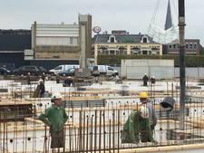 Volop actie in grote bouwput centrum Almelo