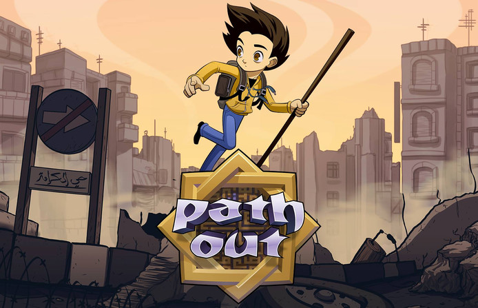 "Visuel du jeu ""Path Out"""