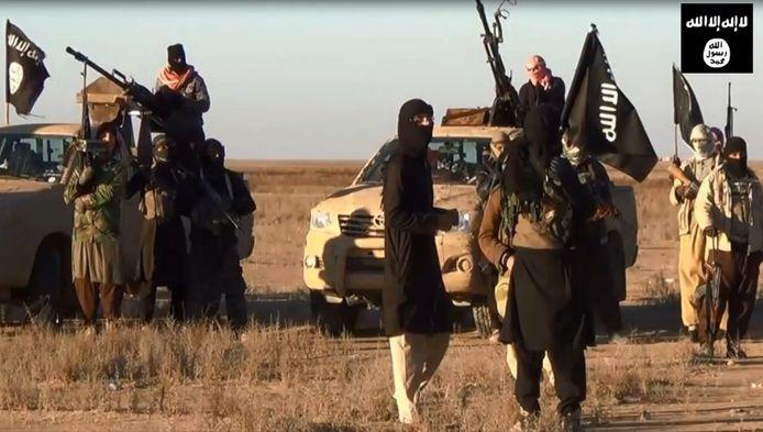 Beeld uit een IS-propaganda video.