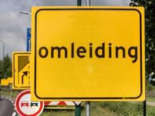 Vanaf maandagavond verkeershinder door gesloten afrit a58 bij Oirschot