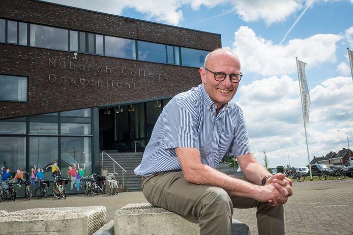 Jan Klein is directeur van het Nuborgh College met locaties in Elburg en Nunspeet.
