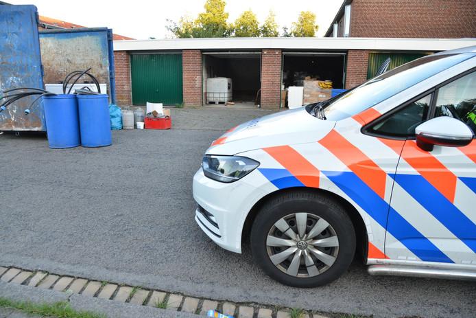 Garagebox met growshopspullen in Breda.