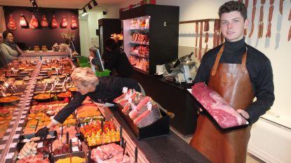 Twintigjarige Louis opent slagerij in hartje De Pinte