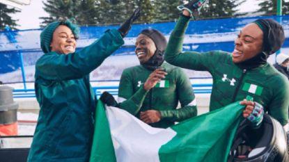 Cool Runnings (bis): Belgische bobsleedames krijgen concurrentie van Nigeria op Winterspelen