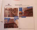 De aanvankelijke planning van aannemingsbedrijf Van den Heuvel voor het bevestigen van de camera aan de gevel van de Vrije Boekhandel.