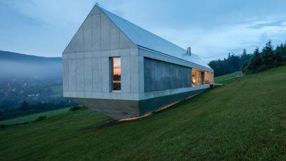 Waanzinnig wonen: deze villa in beton doet denken aan de Ark van Noach