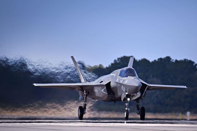 De F-35's van Lockheed Martin vervangen vanaf 2025 de oude F-16's.