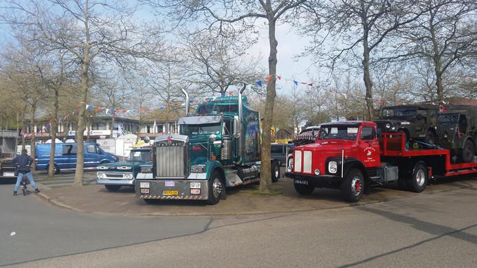 Prachtige trucks verzamelden zich in Oldebroek