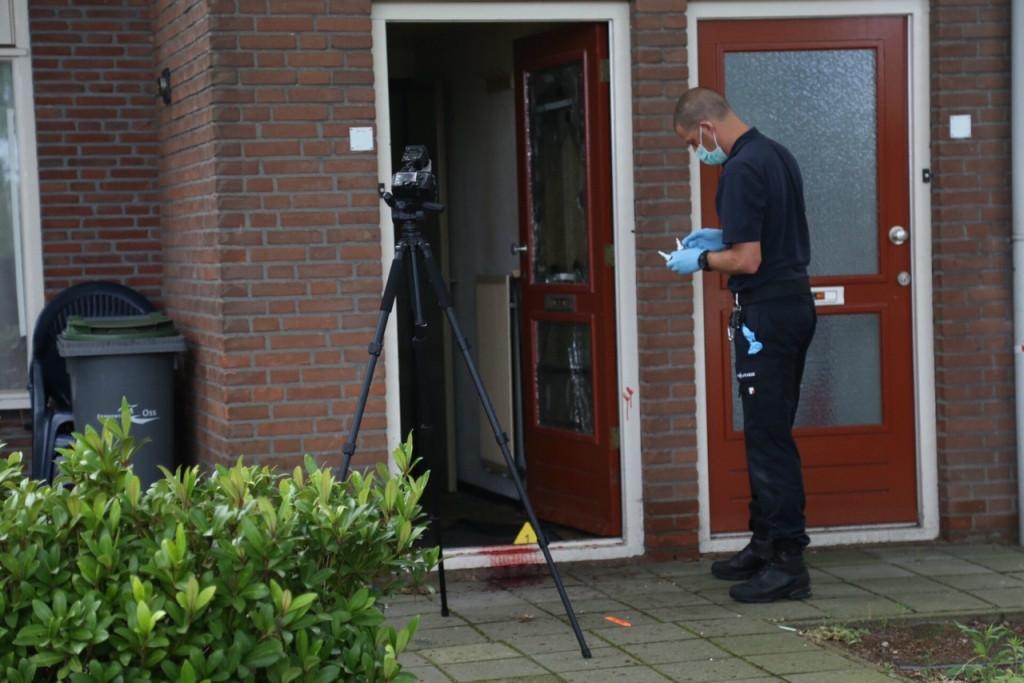 De politie trof destijds een bloedspoor aan bij de woning van de vrouw in de Osse Leeuwerikstraat.