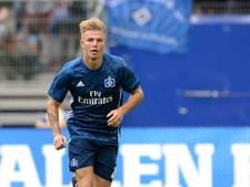 Van Drongelen in basis bij HSV tijdens openingsduel met FC Augsburg