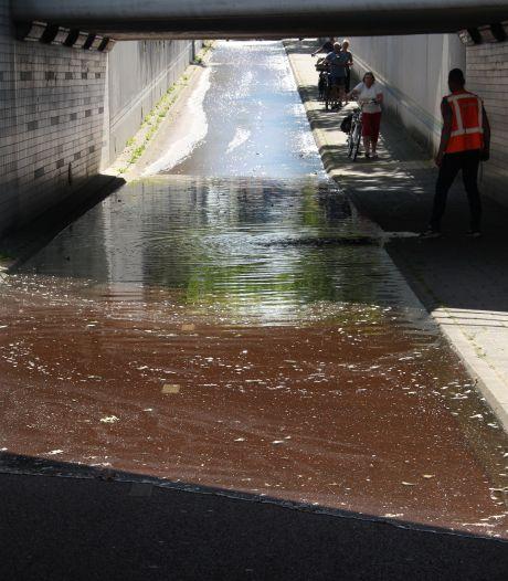 Snel weer droge voeten in Rijssense spoortunnel na geslaagde watertest