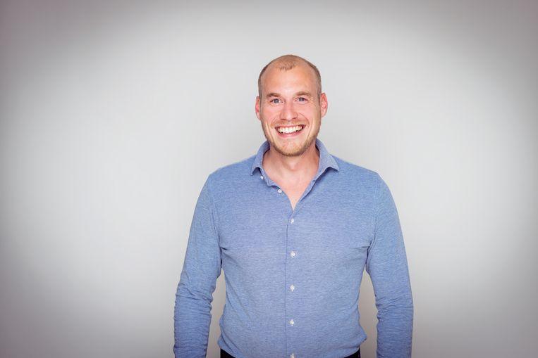 Arno Bisschop, arts en oprichter van zorgorganisatie Talent Care.  Beeld Jeroen Berends