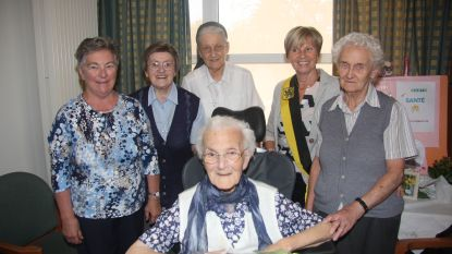 Feest in het woonzorgcentrum: zuster Gertrude is 101