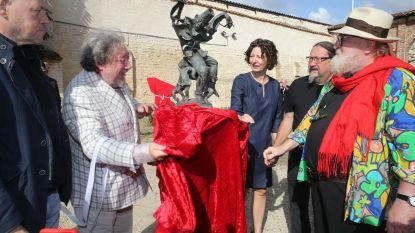 Beeldhouwwerk 'Taptoe Feest' heeft plekje in Zilverhof