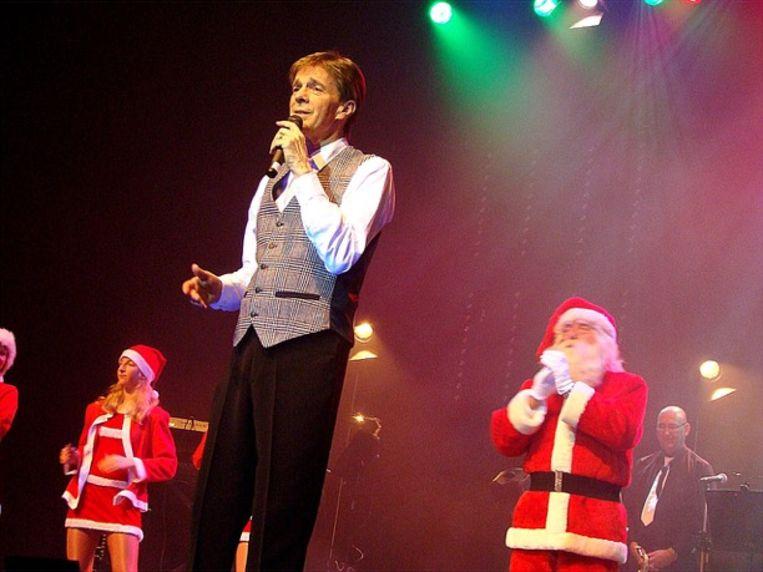 Paul Severs in De Plomblom in Ninove tijdens zijn voorlaatste kerstshow.