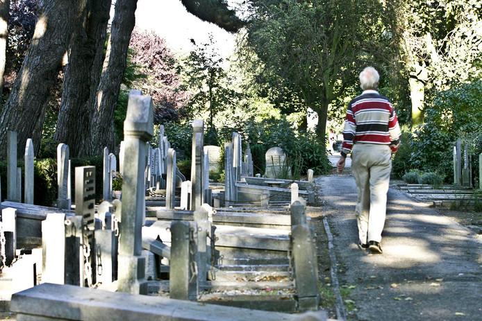 De begraafplaats in Naaldwijk.
