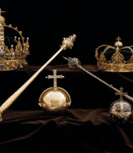 Zweed krijgt 4,5 jaar cel voor spectaculaire roof juwelen koningshuis