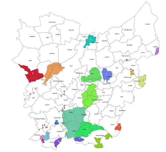 Het captatieverbod breidt uit en geldt nu in de gekleurde zones op de kaart.