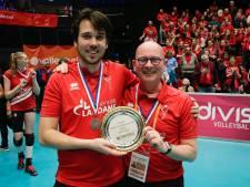 Winnend debuut Ivo Munter en Ard Kramer in eredivisie volleybal