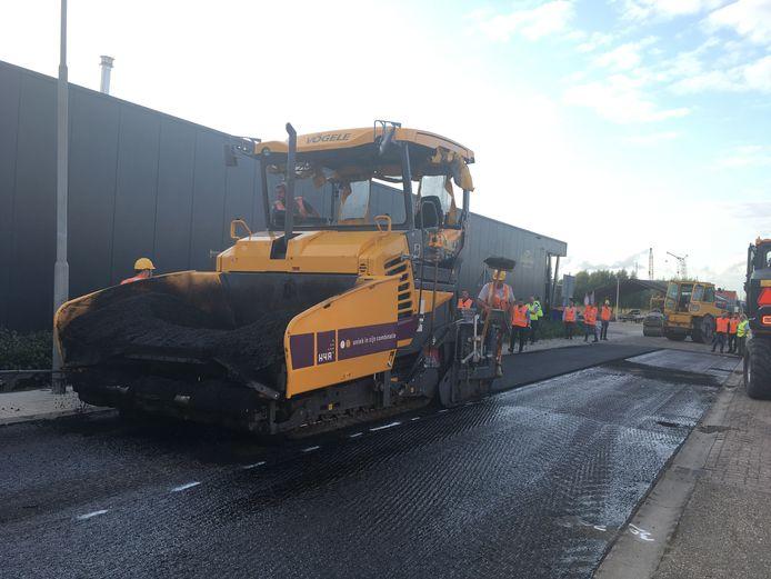 Ook in Bergen op Zoom komt een proefstrook met biobased asfalt.