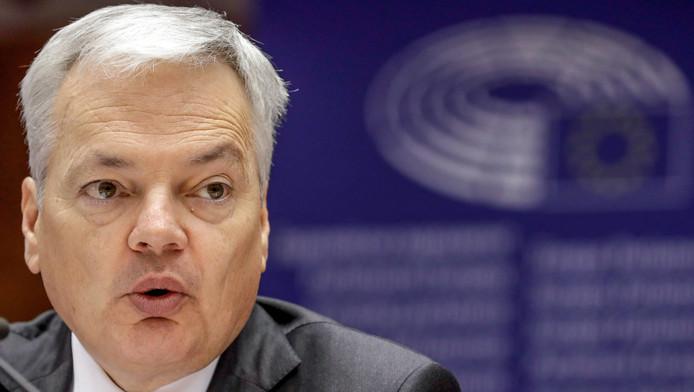Le ministre des Affaires étrangères Didier Reynders.