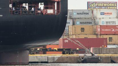 Vrachtschip met Europese eindbestemming en 15.500 kilogram cocaïne aan boord onderschept in Philadelphia