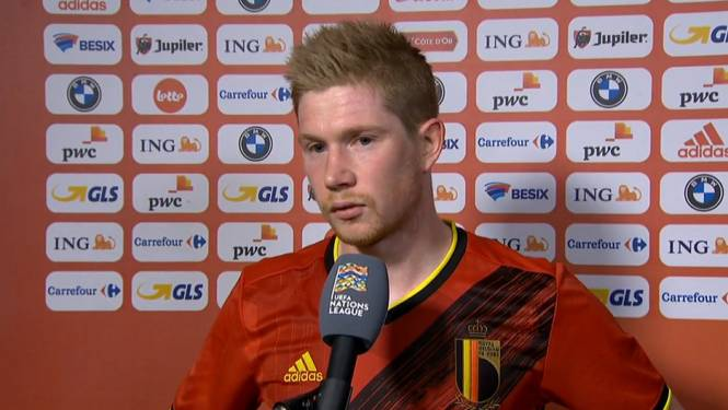 """De Bruyne: """"In de eerste helft voetbalden we met te weinig lef"""""""