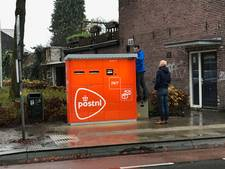 Knaloranje joekels: proef met brief- en pakketautomaten in Tilburg