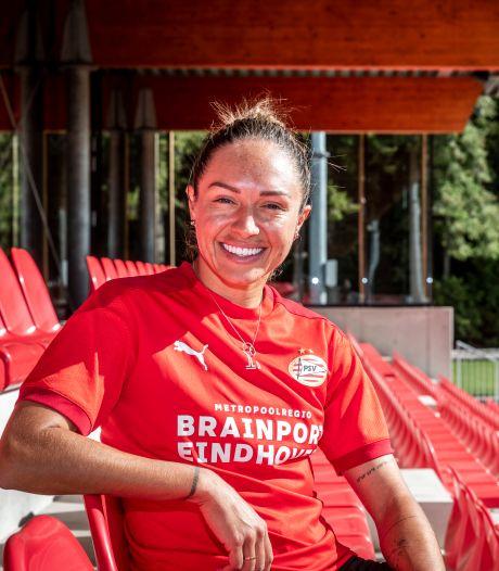 Voetbalster Kyah Simon van PSV in de voetsporen van atlete Cathy Freeman