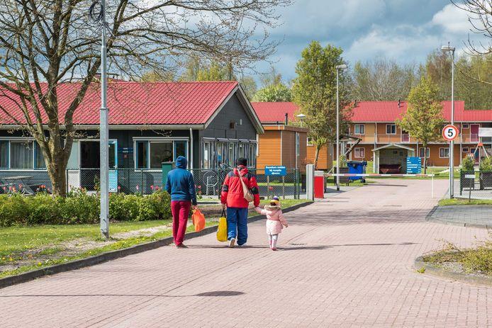 Een Asielzoekerscentrum aan de Hooiweg in Oude Pekela. Foto ter illustratie