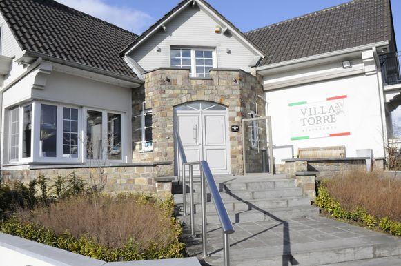 Villa Torre op de huidige locatie aan de Sint-Truidensesteenweg in Orsmaal.