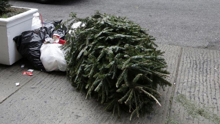 'We hebben onze eigen boom net weggedaan hè? Weet je nog? Het ís geen Kerstmis meer...' Beeld epa