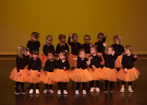 Enkele dansertjes van Happy Feet