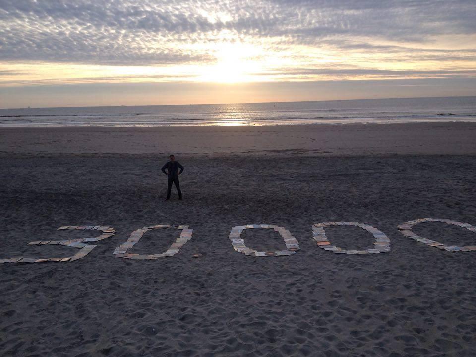 Frank Schild haalde in vijf jaar tijd 30.000 euro op.