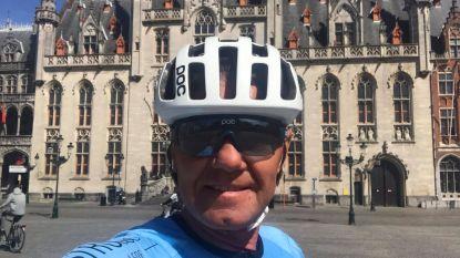 """'El toro loco' van Schollaert Cycling Team 10 uur op de fiets: """"Bij gebrek aan wedstrijden andere uitdaging gezocht"""""""