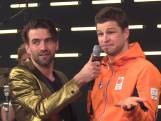 Kramer ergert zich aan fans in Heineken House