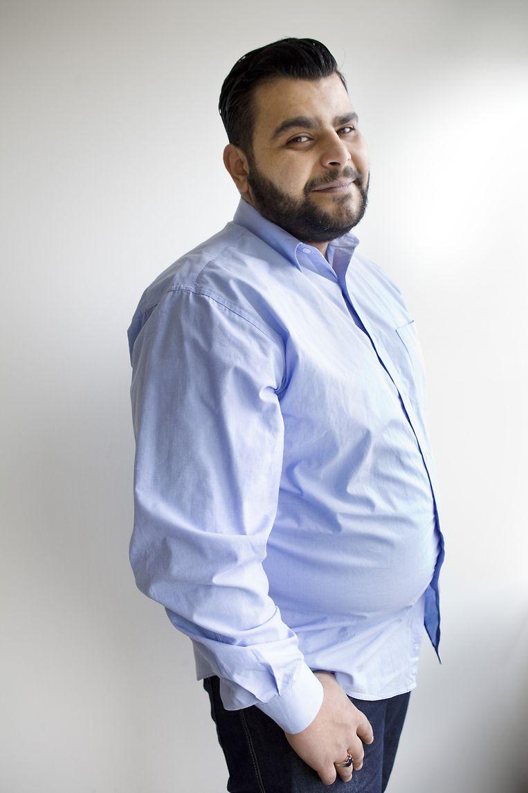 Ahmed Fares. Beeld Io Cooman