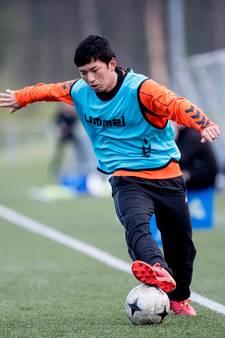 Apeldoornse Japanner wil met Van Nistelrooij knuffelen