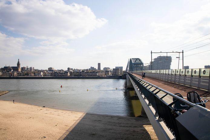 De skyline van Nijmegen.