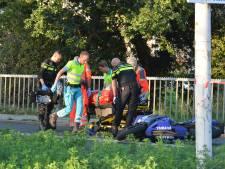 Motorrijder gewond na ongeval op Houtrustweg