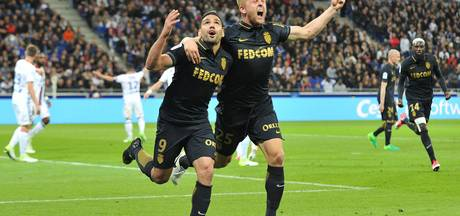 Monaco terug aan kop in Ligue 1 na zege op Lyon