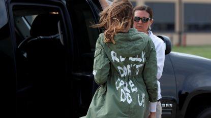 'I don't care'-jas van Melania Trump is voor honderden euro's te koop